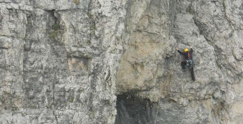 Arrampicata sui Torrioni Magnaghi in Grignetta