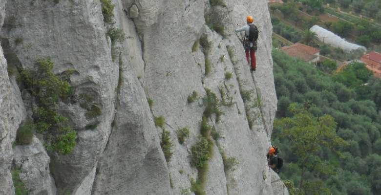 arrampicare a Finale Ligure