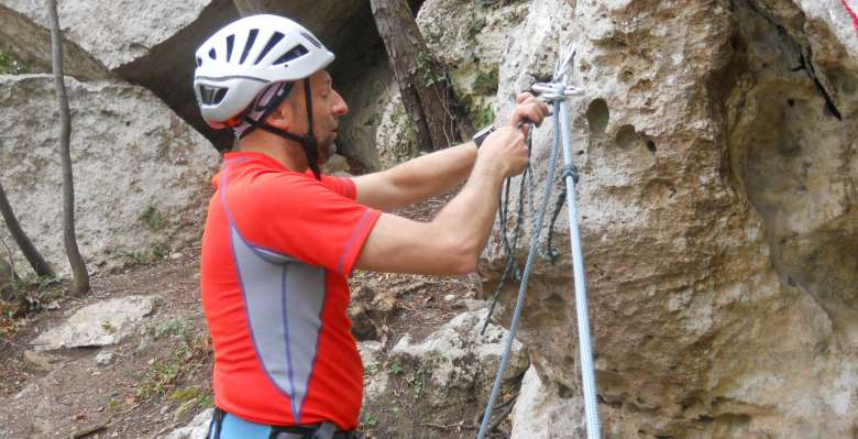 Corso di manovre e sicurezza in arrampicata su roccia