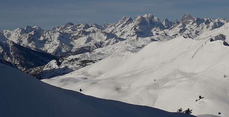 Scialpinismo in Val Thuras