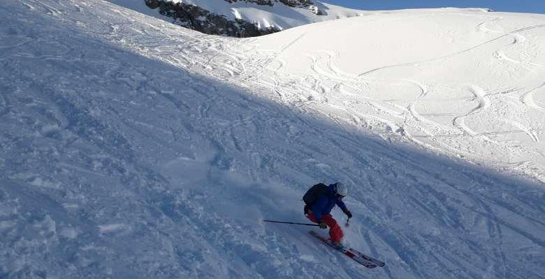 gita di scialpinismo