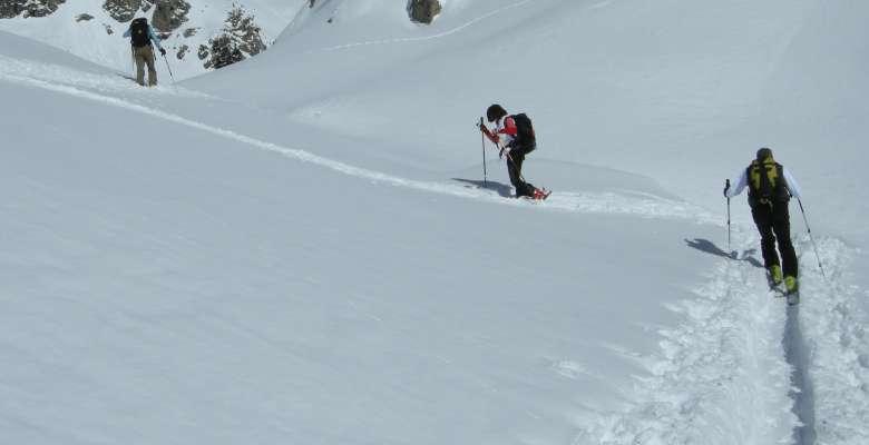 Ripasso tecniche scialpinistiche e sci fuoripista