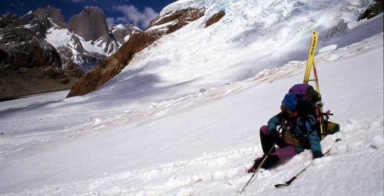 Verso il passo Marconi (Patagonia)  sguardo verso il Cerro Pier Giorgio