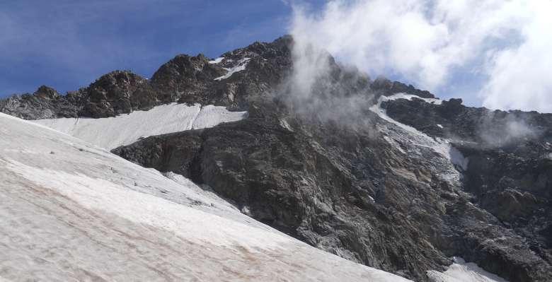 Monte Disgrazia 3678m.