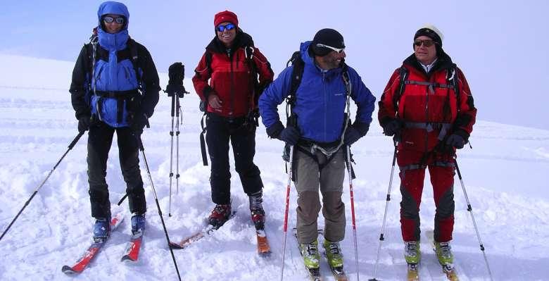 scialpinismo al Gran Paradiso