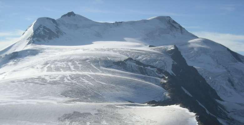 """corso di progressione su ghiacciaio: Cevedale, le """"aule"""""""