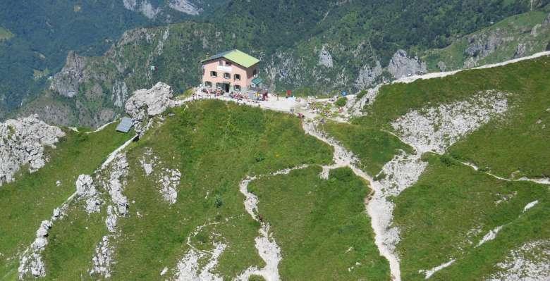 Il rifugio Rosalba in Grignetta