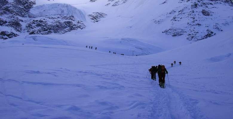 scialpinismo: verso il Gran Paradiso