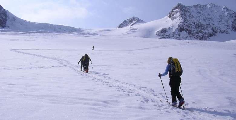 scialpinismo in Val Senales