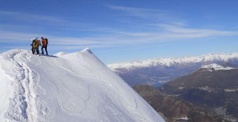 Lungo la cresta di Piancaformia al Grignone