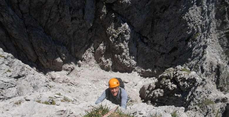 """arrampicare nel """"cuore"""" della Grignetta"""