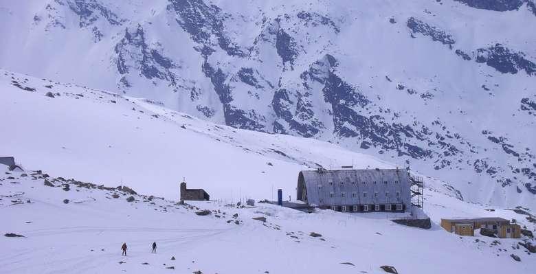 Il rifugio Vittorio Emanuele al Gran Paradiso