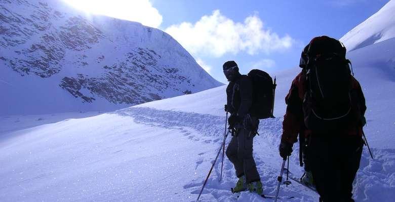 scialpinismo: in salita verso il Gran Paradiso