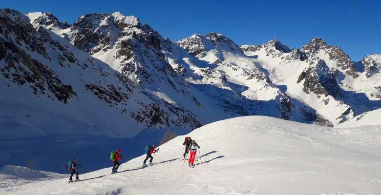 Scialpinismo in Val Maira